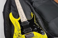 Mr-Big-Ibanez - Signed by Eric Martin, Paul Gilbert, Billy Sheehan, Pat Torpey and Matt Starr at  Newcastle in November 2017