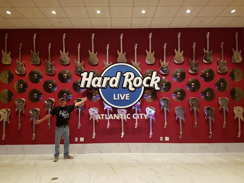 Jack at the Hard Rock Cafe